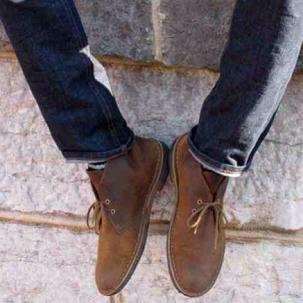 Broken Clarks Shoes