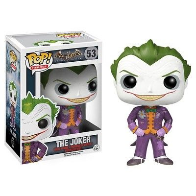 Funko Arkham Asylum Pop! Heroes Vinyl Collectors Set: Batman, Joker, Nurse Harley Quinn
