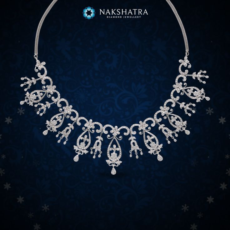 Bask in the glory of divinity with this Nakshatra diamond necklace for a grand wedding in the family.