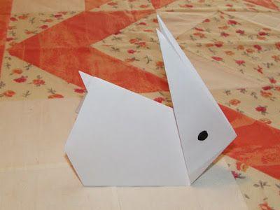 Játékos tanulás és kreativitás: Origami nyuszi