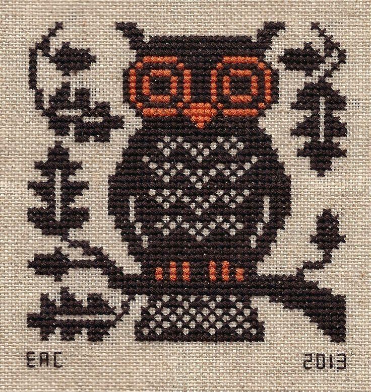 "Garden Grumbles and Cross Stitch Fumbles- Prairie Schooler ""Boo Moon"" LOVE IT!!!"