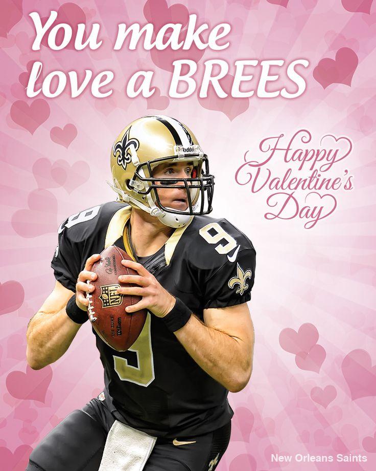 Drew Brees! #ValentinesDay #Valentine