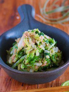 1/4株なんてペロリ♪やみつき『白菜とツナのうまだれナムル』 by Yuu | レシピサイト「Nadia | ナディア」プロの料理を無料で検索