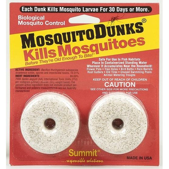 Summit Chemical 102-12 Insect Mosquito Dunks Pk/2, Gardening