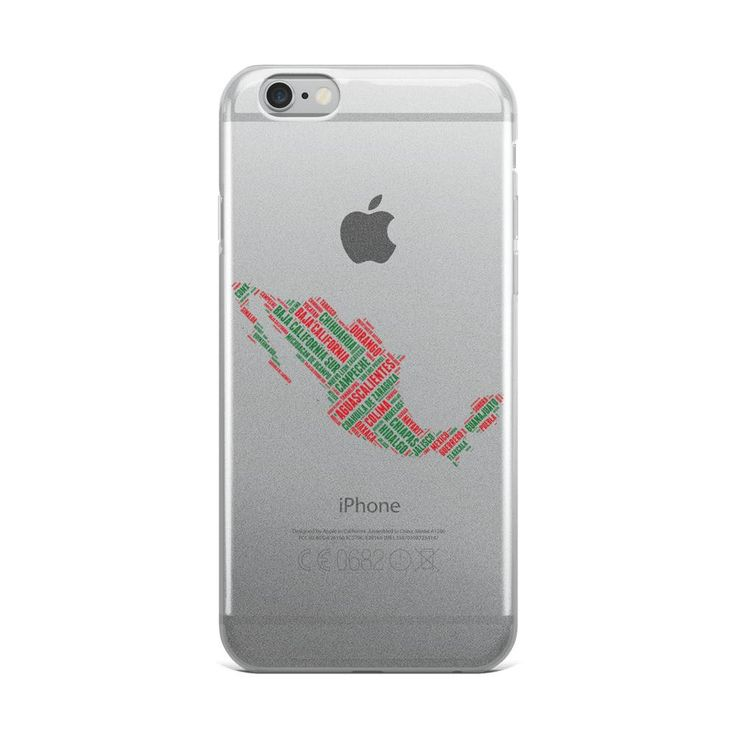 Estados de Mexico iPhone 5/5s/Se, 6/6s, 6/6s Plus Case