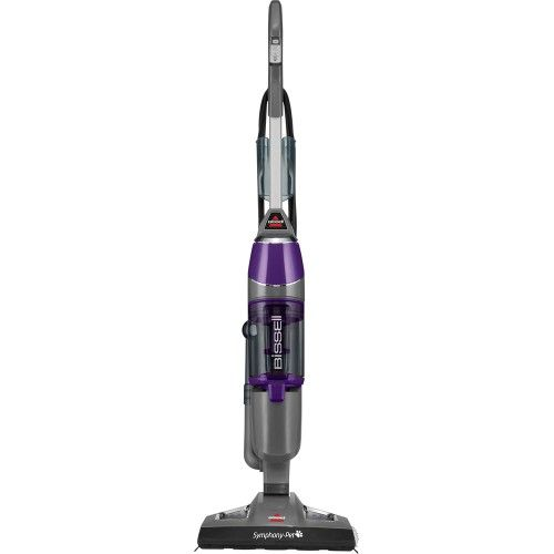 BISSELL - Symphony Pet All-in-One Vacuum and Steam Mop - Grapevine Purple - Front Zoom