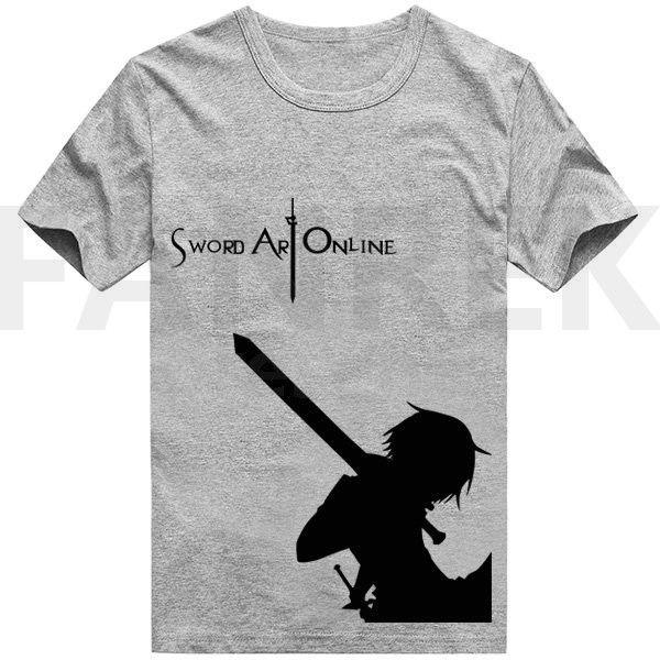 Sword Art Online Kirigaya Kazuto Logo T-Shirts