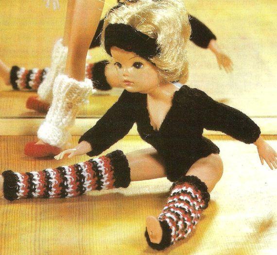 Knitting Patterns For Sindy Dolls : VINTAGE knitting pattern pdf, Sindy doll clothes exercise ...