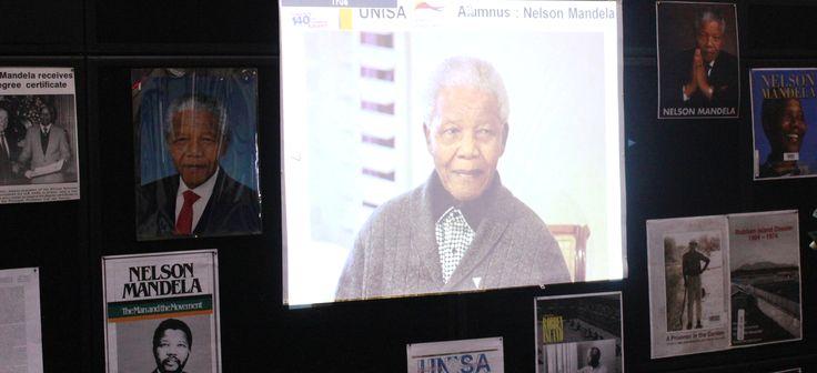 Showcased: Mandela's life in books and audio -visuals