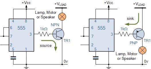 555 Timer Output Driver | Projetos elétricos, Leds, Projetos