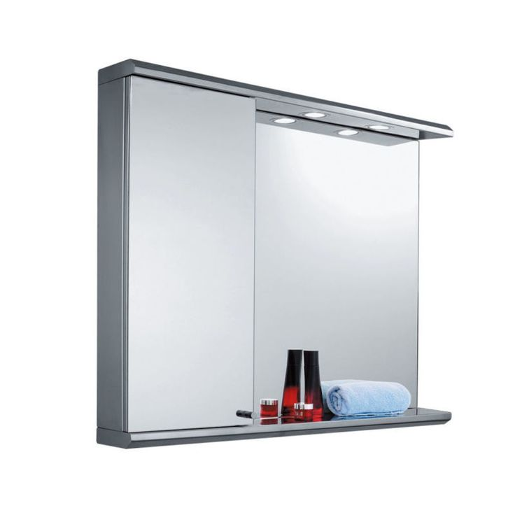 A luxury bathroom deserves luxury accessories, right down to the last detail. Our Nevada Illuminated Rectangular Mirror Cabinet is an absolute must-have accessory, oozing opulence and lustre, perfect to suit your contemporary bathroom. Crafted from stainl