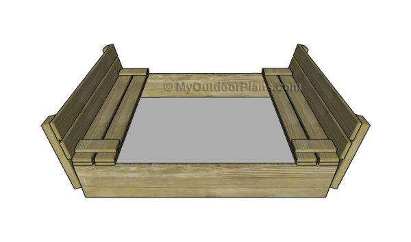 Sandbox With Cover Plans Myoutdoorplans Free