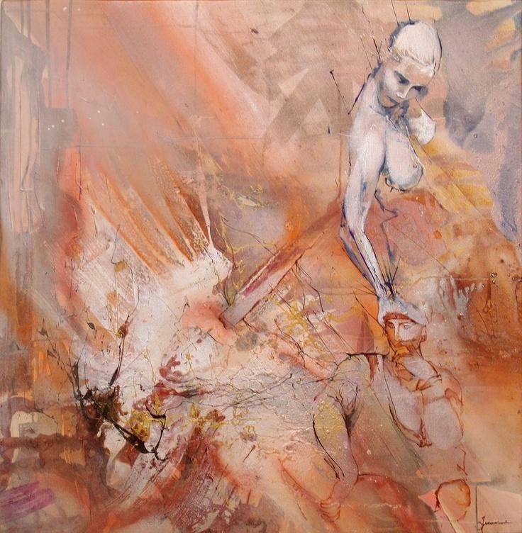 """Saatchi Online Artist: Federico Ferrarini; """"Binaria"""""""
