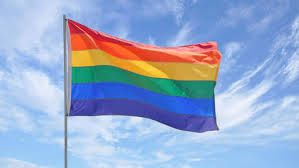 This Flag is the symbol of homosexuality in the Netherlands. In the Netherlands it is completely legal to be a gay or lesbian, they have the same rights as anyone else in the Netherlands. (Joelle)