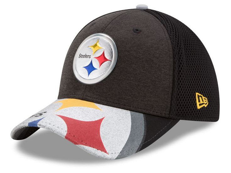 Pittsburgh Steelers New Era 2017 NFL Draft 39THIRTY Cap