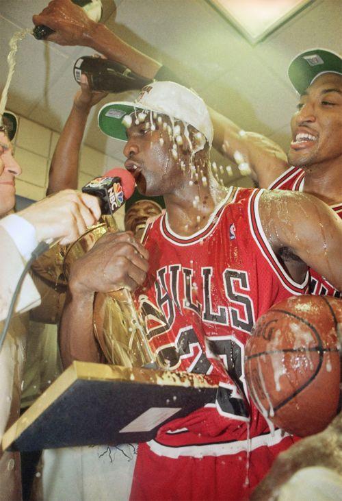 Michael Jordan ... Chicago Bulls.