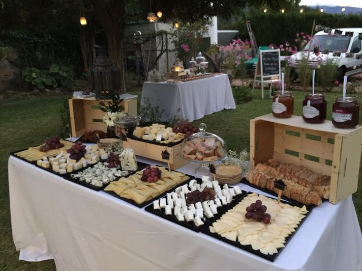 Mesa de quesos fiesta 10 aniversario