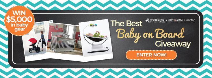 The Best Baby on Board Giveaway - weeSpring | Blog