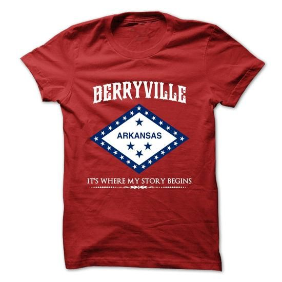 Berryville - Arkansas - Its Where My Story Begins ! - #navy sweatshirt #online tshirt design. HURRY => https://www.sunfrog.com/States/Berryville--Arkansas--Its-Where-My-Story-Begins-.html?60505