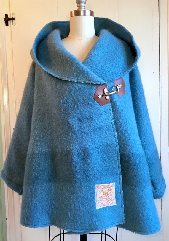 Hudson Bay Blanket Coat Sz Small Only Blanket Coat