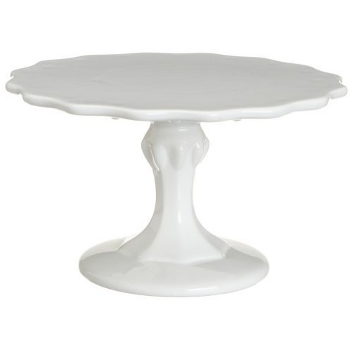 Cake Pedestal, Small Scalloped