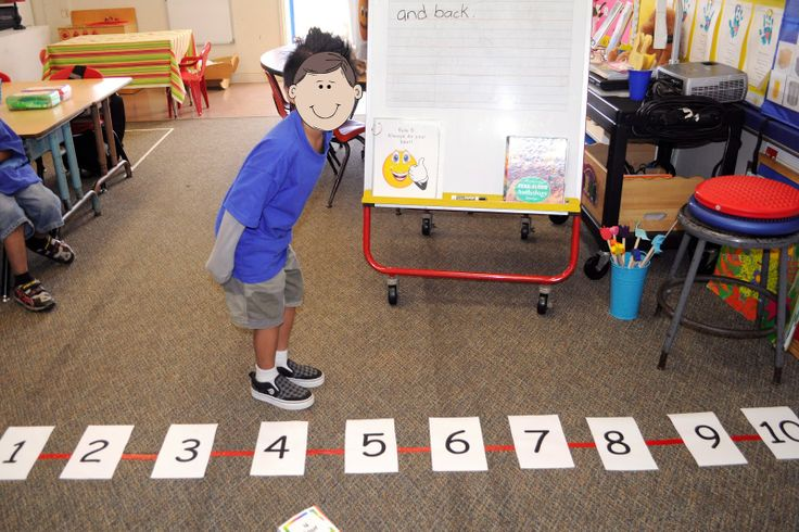 """Number Line Race This is another great review game. We practiced playing as a group using a large """"human"""" number line and pocket cube. The cube is labeled +1, +2, +3, -1, -2, -3. Two students modeled for the class, rolling the cube and racing to the end of the number line! They start on zero and go forward or backward depending on their roll. First player to reach 10 wins!"""