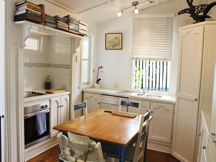 Gorgeous little queenslander kitchen.