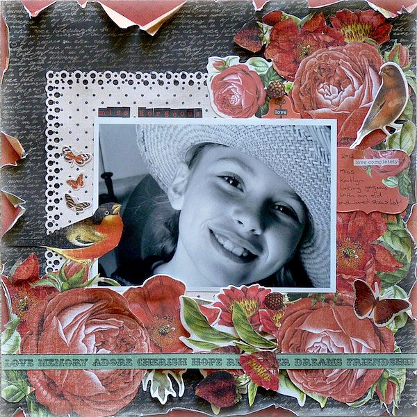 Scottie Crafts Blog: Miss Gorgeous Kaisercraft Curiosity By Beverley