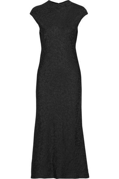 PROTAGONIST Satin-jacquard midi dress. #protagonist #cloth #kleider