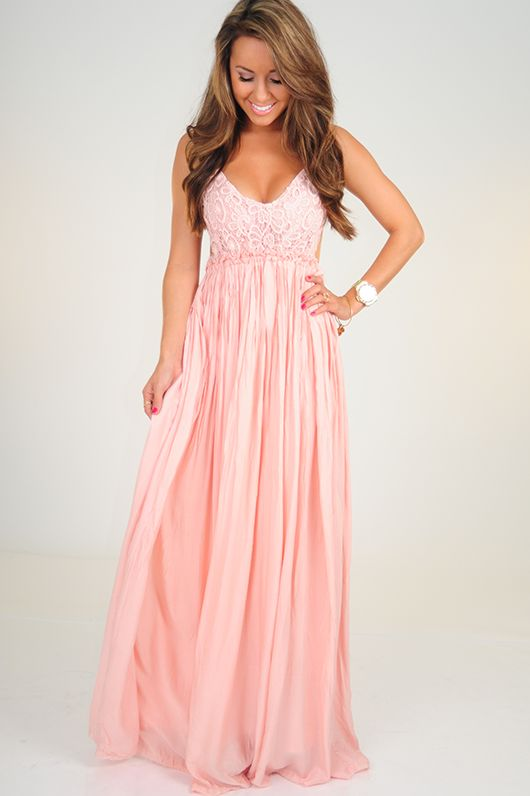 25  best ideas about Light pink long dress on Pinterest | Pastel ...