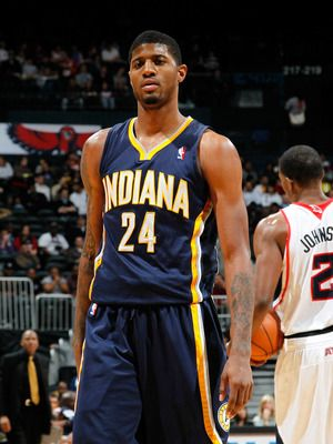 Paul George----Indiana Pacers  Position: Shooting guard, small forward  Age: 21