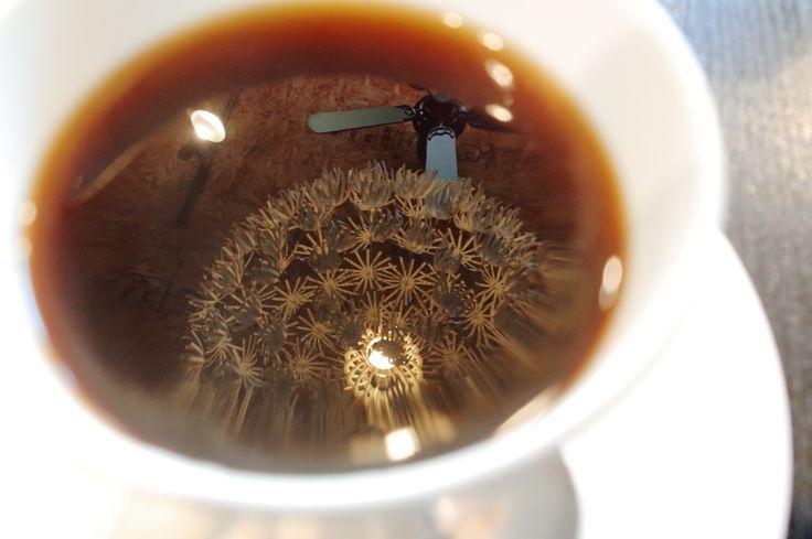 珈琲に茶蔵さんが溶けこんでいたよ♪