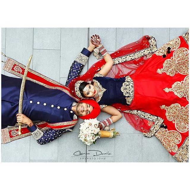 We cannot get enough of our client Sheetal Moon's wedding pictures! She looked absolutely stunning in her custom wedding lengha! The midnight blue velvet blouse and crimson red lengha were the perfect pairing and gave a gorgeous contrast! It has kasab zardozi embroidary with zircon highlights. Congratulations Sheetal! Photography: Cosmin Danila Looking to design your own custom outfit? Email us for a consultation at sales@wellgroomed.ca Drop by one of our retail locations: 6028 Stevenson...
