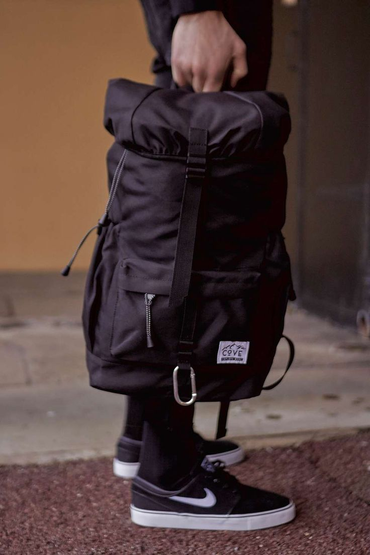 Cove Canyon Black Backpack