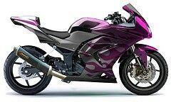 Purple crotch rocket