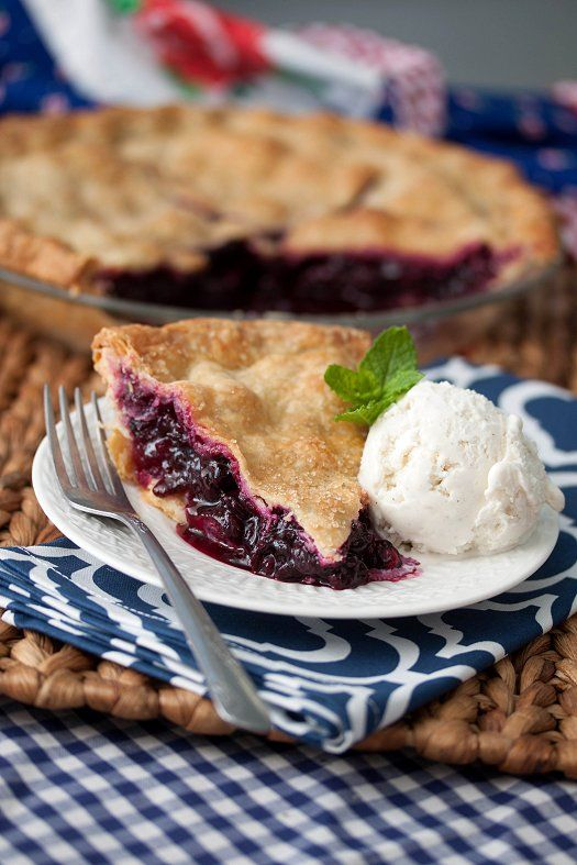 Blueberry Pie 2 rolled-out rounds of basic pie dough (homemade or store-bought) 4 cups blueberries 1 Tbsp fresh lemon juice, strained 3/4 cup sugar 4 Tbsp cornstarch 1/2 tsp finely grated lemon zest 1/4 tsp salt 1/4 tsp ground cinnamon 1 Tbsp cold unsalted butter, cut into small pieces