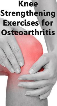 Learn these easy to follow knee strengthening exercise for any suffering from Osteoarthritis http://www.niagaraculinarytrail.com/knee-strengthening-exercises-for-osteoarthritis/ #exercise #workout #knees #osteoarthritis