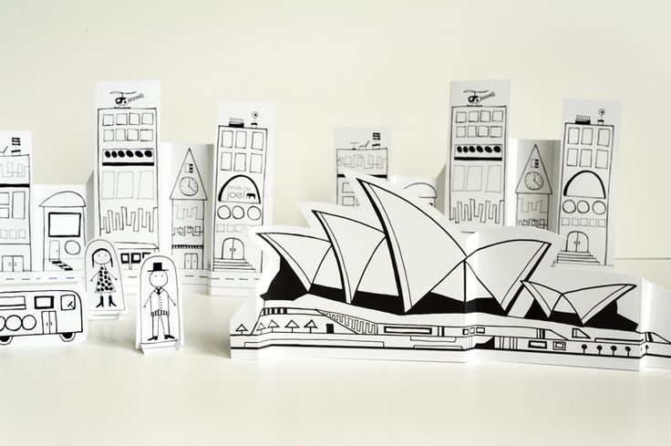 Made by Joel Paper City Sydney Opera House