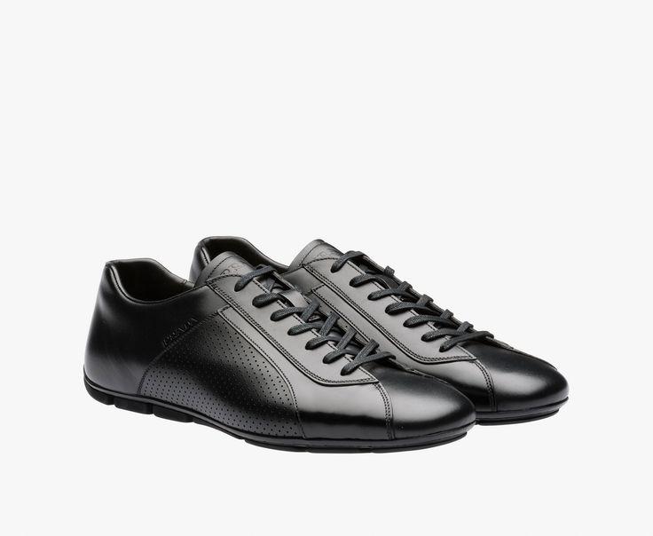 Chaussures De Sport En Cuir Printemps / Été Prada Mm4VIb