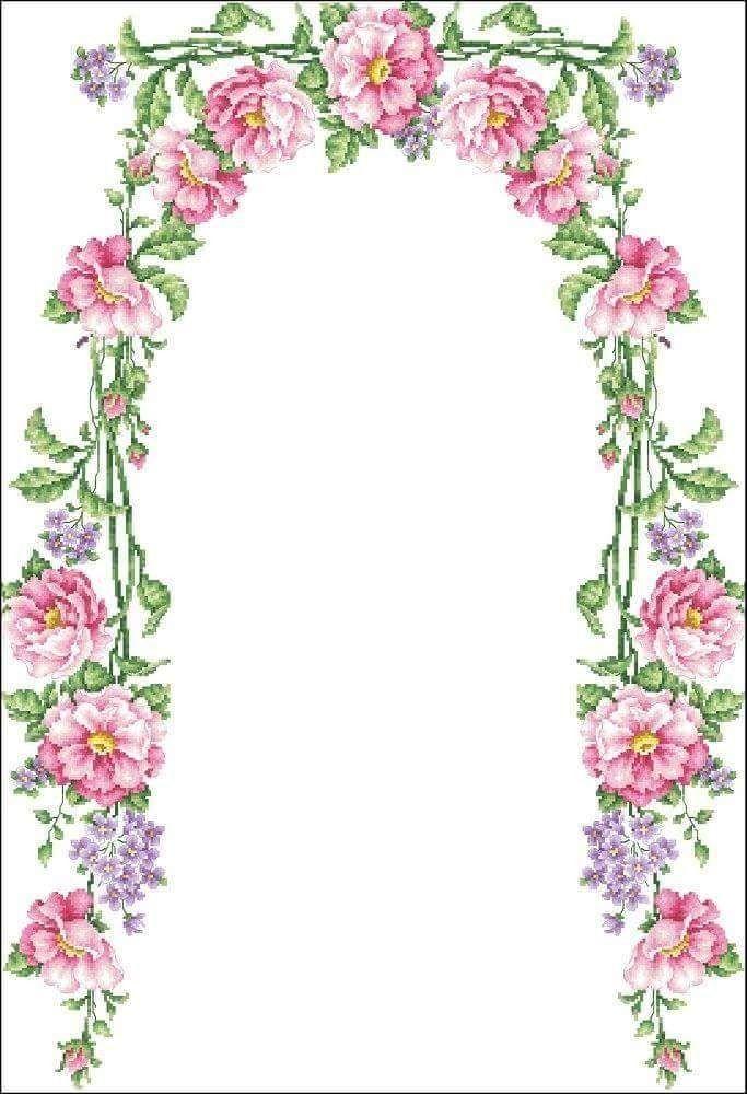 Pin de Meryem Sanay en seccade | Pinterest | Punto de cruz, Puntos y ...