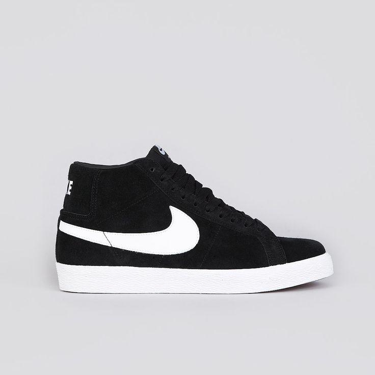 Nike Sb Blazer Black / White