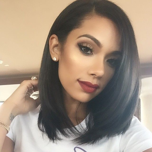Erica Mena....too much make-up for my taste ,but That Hair though!!