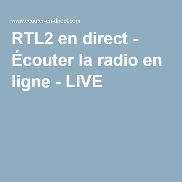 RTL2 en direct - Écouter la radio en ligne - LIVE