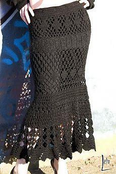 Вязаная крючком юбка своими руками. Бесплатная схема вязаной юбки | Все о рукоделии: схемы, мастер классы, идеи на сайте labhousehold.com