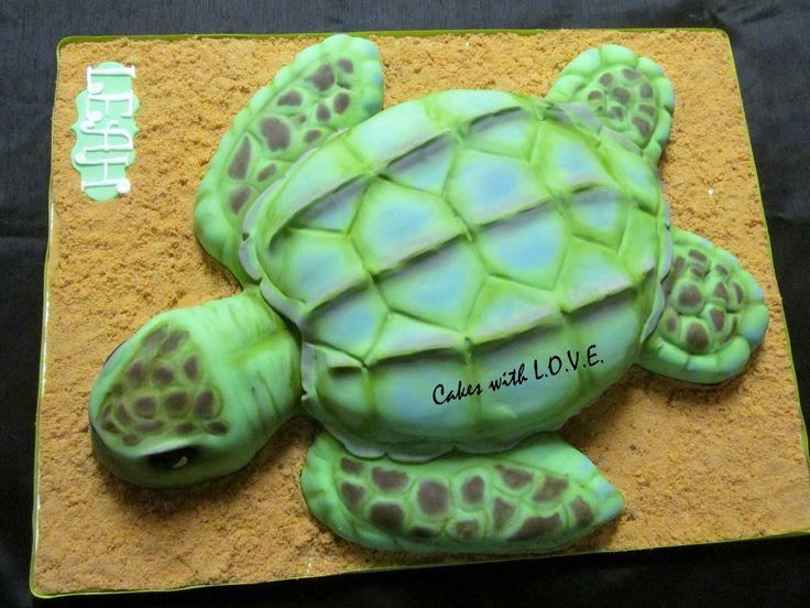 Sea Turtle Cake Cake Cupcake Cookies Turtle