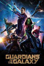 """Guardians of the Galaxy"" (2014) by James Gunn - starring Chris Pratt, Zoe Saldana  Read full review: http://letterboxd.com/albertofarina/film/guardians-of-the-galaxy/"