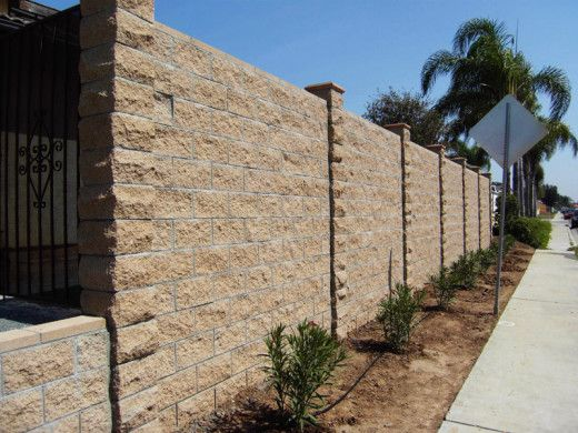 Retaining Walls Create A Level Surface In A Sloped Area They Can Also Enhance And Provide An Attractive Eleme Concrete Retaining Walls Retaining Wall Concrete