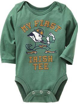 fighting irish onesie