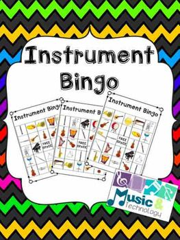 This is a game to play with your students to reinforce musical instruments. Instruments included are: Brass Family: french horn, trombone, trumpet, tuba, String Family: Violin, Viola, Cello, String Bass, Guitar, Harp Woodwind Family: Piccolo, Flute, Clarinet, Oboe, Saxophone, Bassoon Percussion Family: Piano, cymbals, gong, snare drum, bass drum, timpani, xylophone, and triangle ...