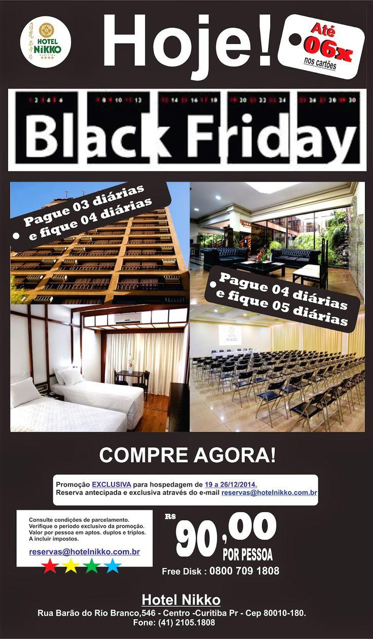 Hotel em Curitiba: BLACK FRIDAY HOTEL NIKKO CURITIBA PR